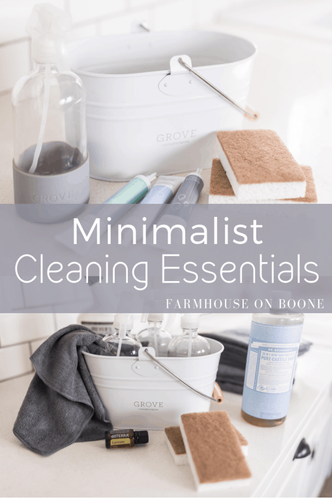 Minimalist Cleaning Essentials