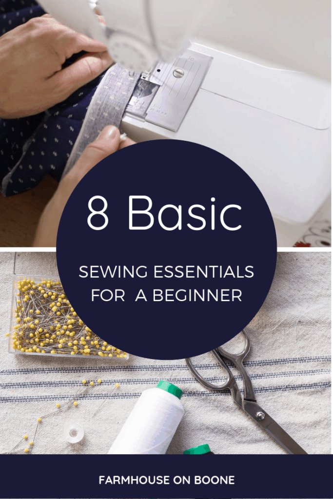8 Basic Sewing Essentials for a Beginner