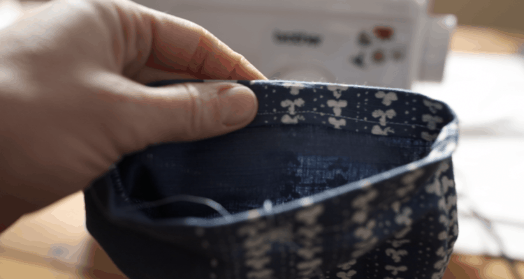 How to Sew a Hem finished product