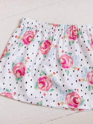 lovely handmade skirt sewing tutorial