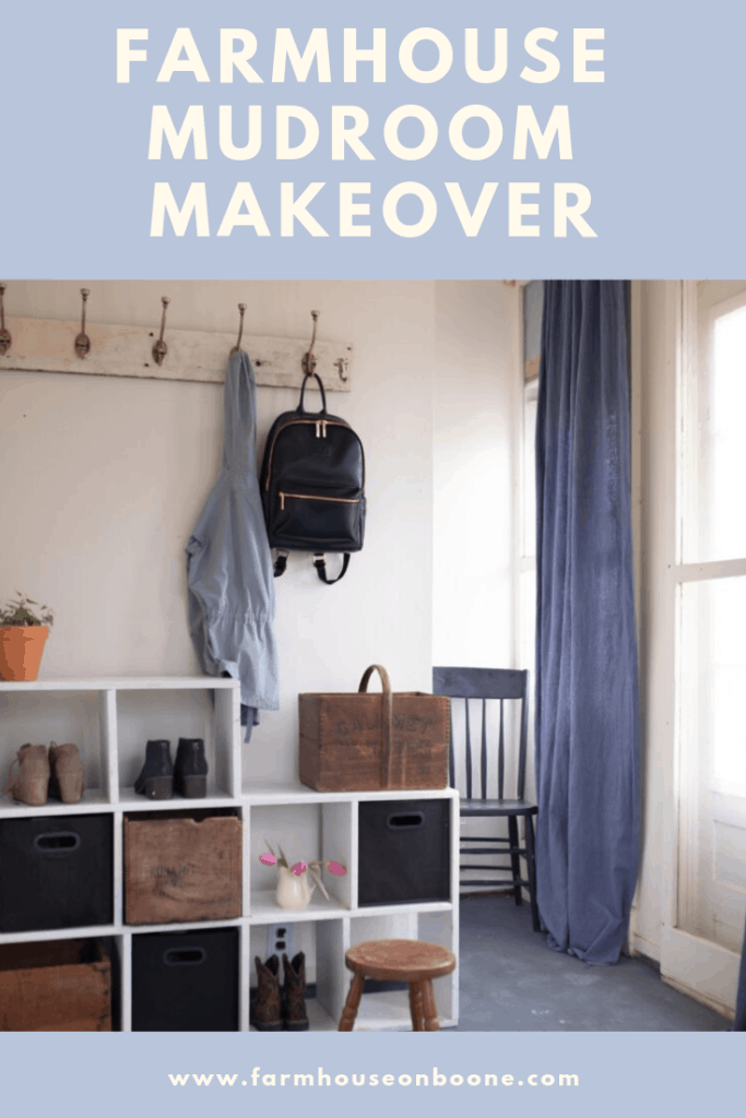 Farmhouse Mudroom Makeover