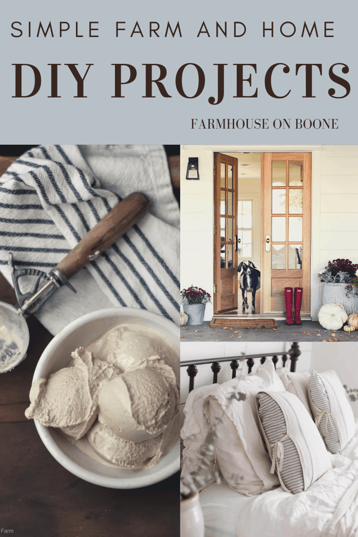 Simple Farm and Home DIY Projects - Farmhouse on Boone