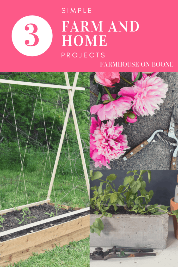 3 Simple Farm and Home Projects