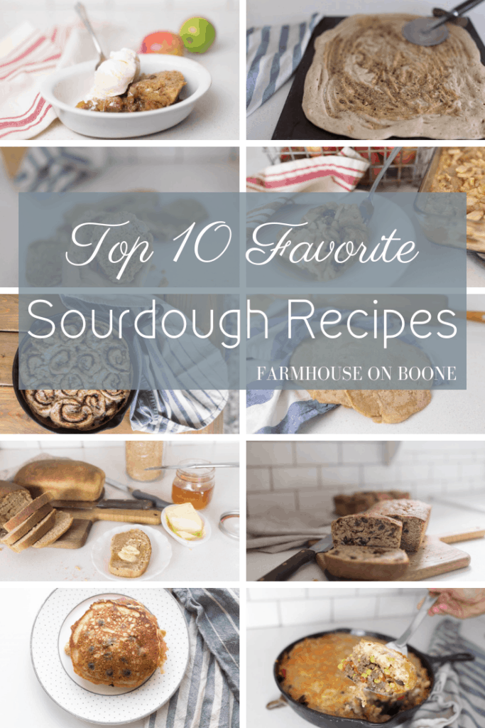 Top 10 Favorite Sourdough Recipes