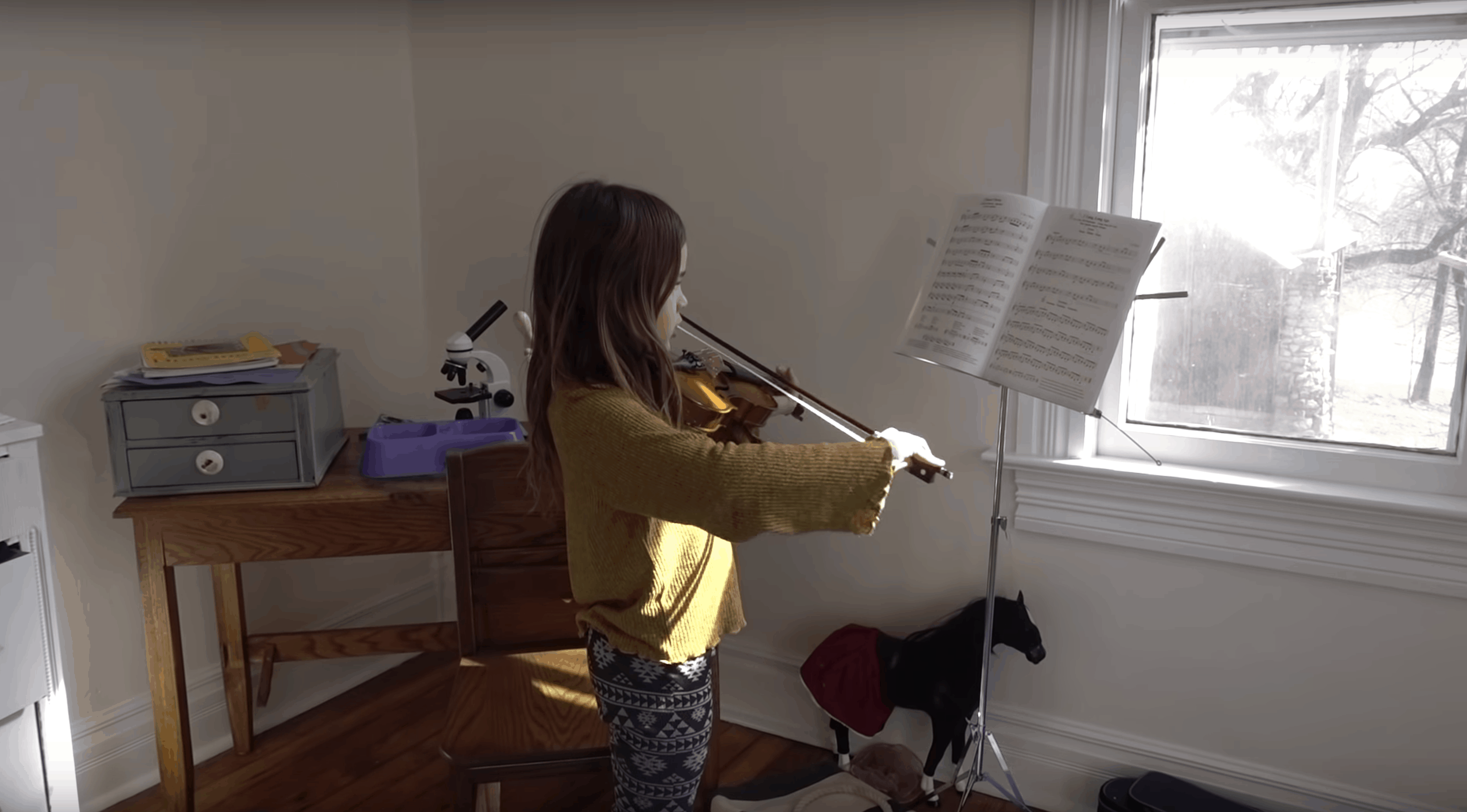 playing instruments - super fun activity for kids