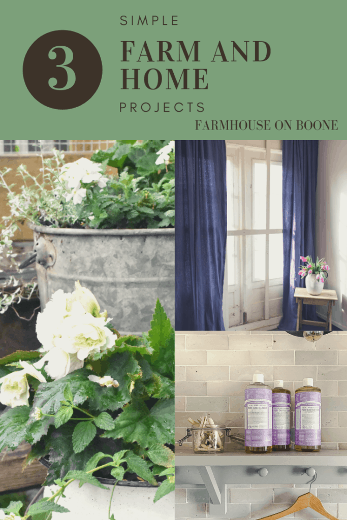 3 Simple Farm and Home Projects - Farmhouse on Boone