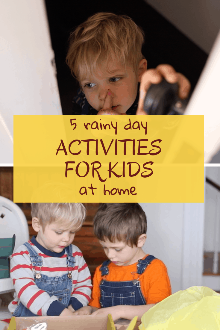 5 Rainy Day Activities for Kids - Farmhouse on Boone
