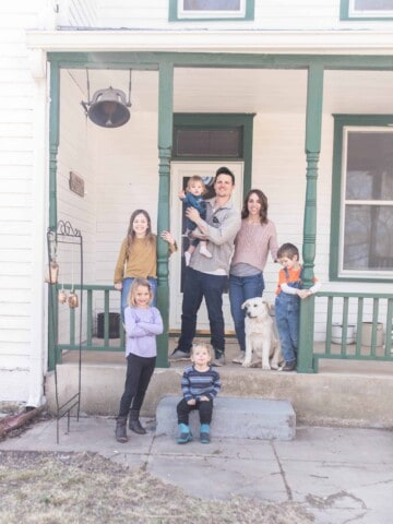 our debt freedom story paying cash for our farmhouse