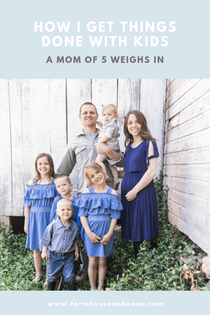 Answering a Recurring Question | How I get EVERYTHING Done with 5 Kids| Supermom? | Do you ever relax? - Farmhouse on Boone
