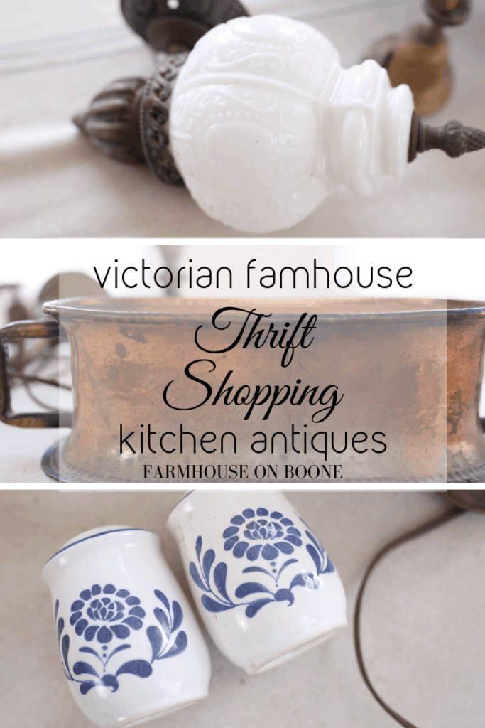 Victorian Farmhouse | Thrift Shopping | Kitchen Antiques - Farmhouse On Boone