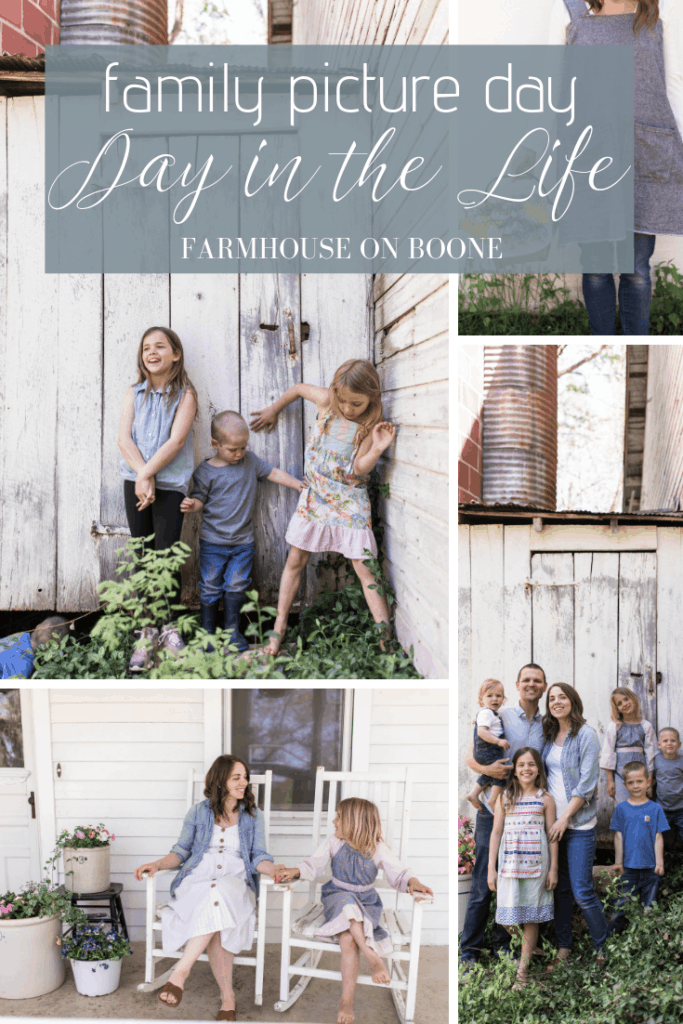 Family Picture Day | Day in the Life - Farmhouse on Boone