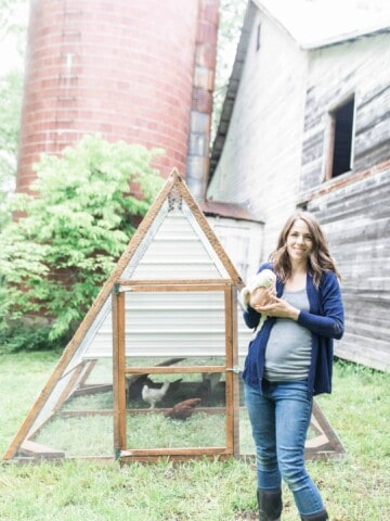 lisa bass farmhouse on boone by a fram chicken tractor diy coop build
