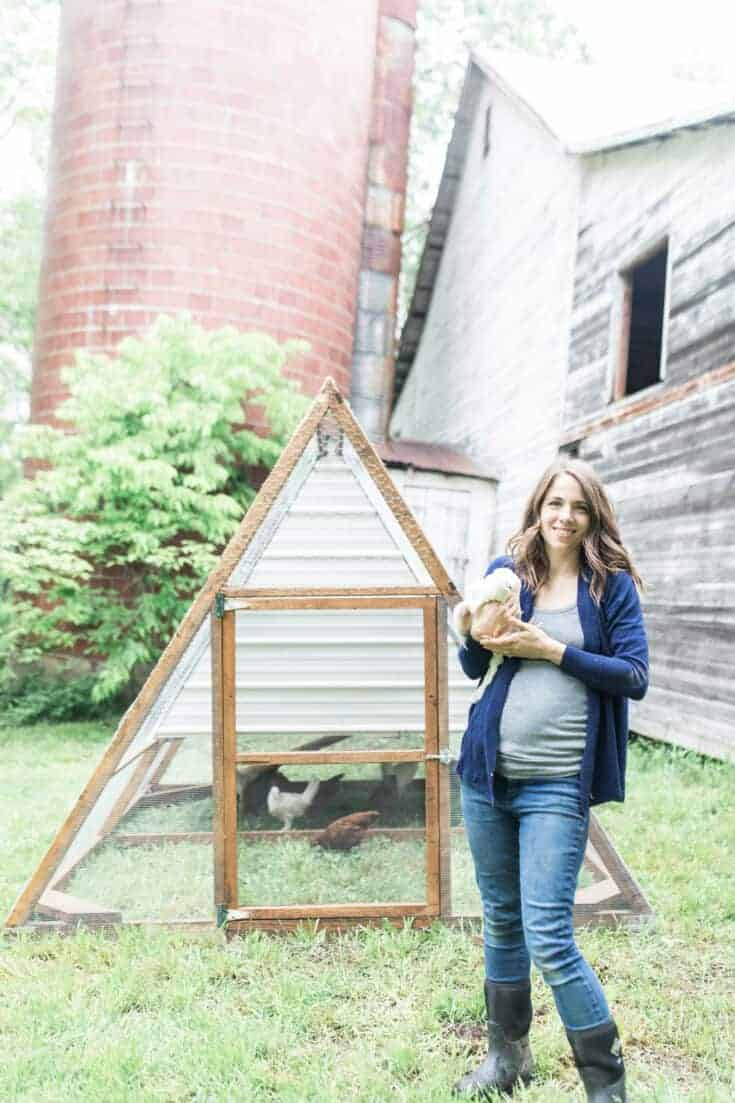 Our A-Frame Chicken Tractor
