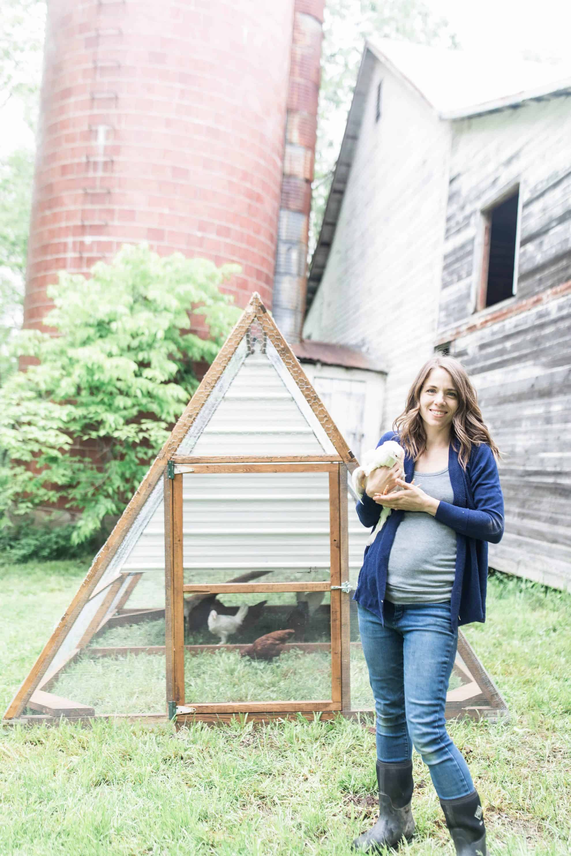 Our A Frame Chicken Tractor Farmhouse On Boone