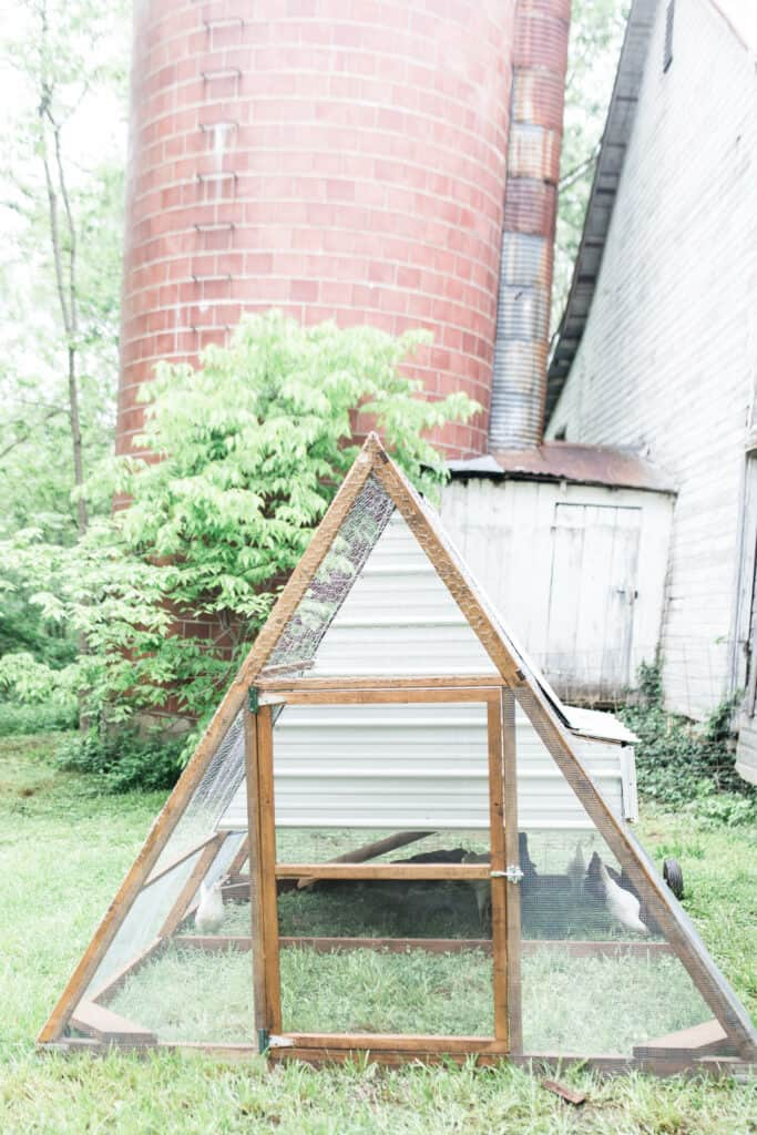 a frame chicken coop build farmhouse on boone