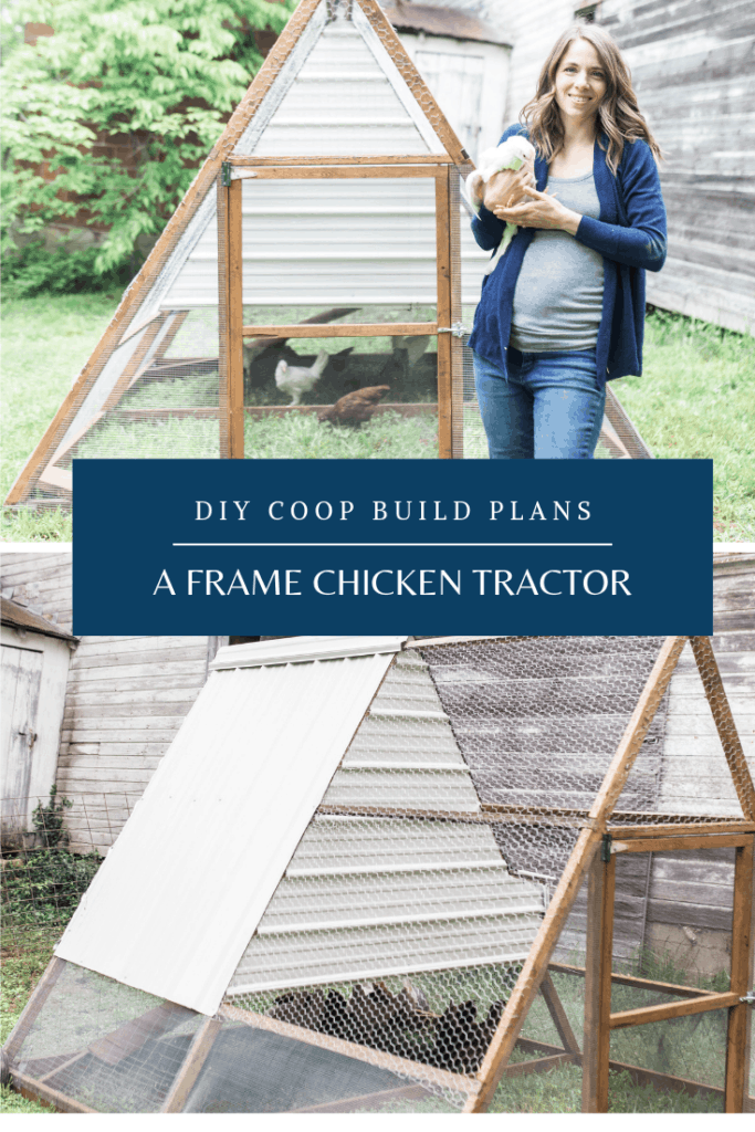 a frame chicken tractor diy coop build farmhouse on boone