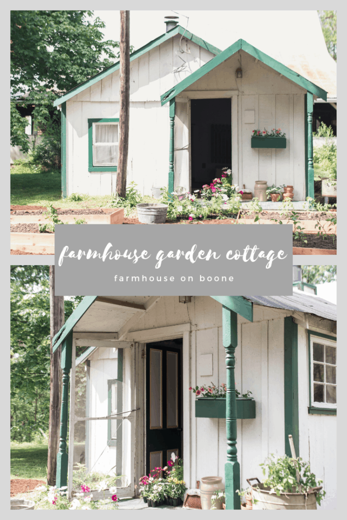 farmhouse cottage garden spring