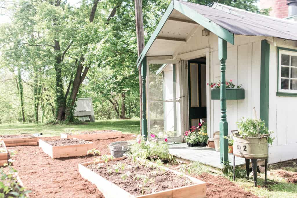 spring farmhouse cottage garden tour