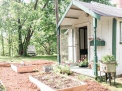 spring farmhouse cottage garden tour