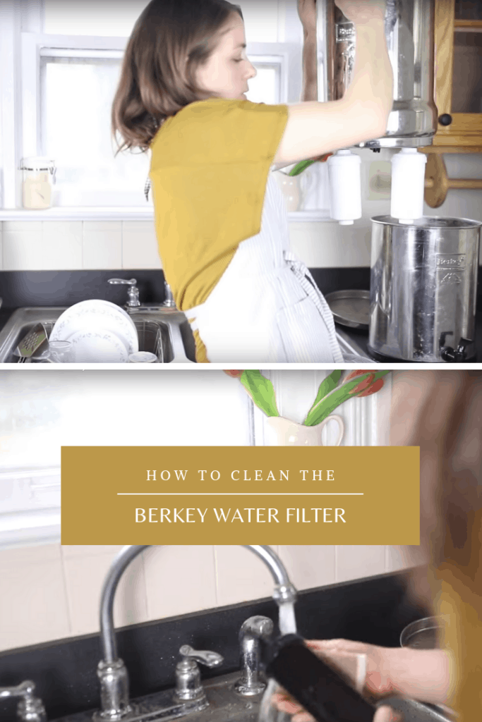 How to clean the berkey water filter