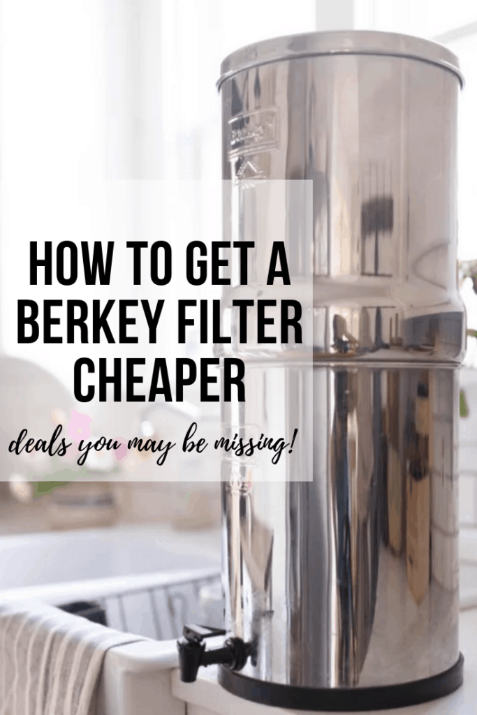 how to get a berkey water filter cheaper