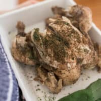 How To Make a Chicken In The Instant Pot
