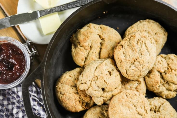 Sourdough Biscuits - Long Fermented
