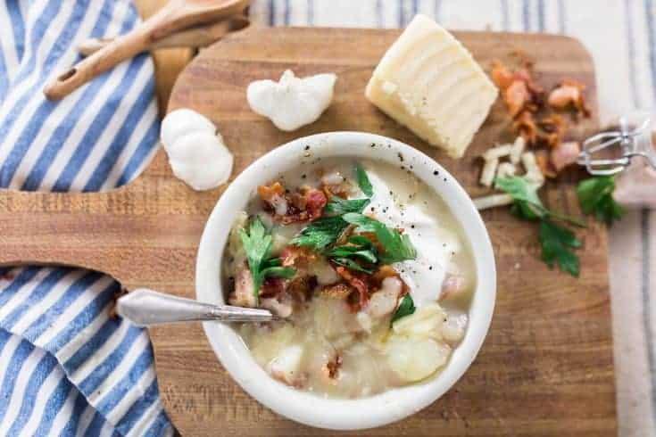 Hearty And Healthy Potato Soup Recipe