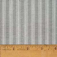 Magnolia Gray Stripe Plaid Homespun Cotton Fabric Sold by the Yard - JCS Fabric - Walmart.com