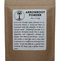 Arrowroot Powder 4 Ounces (1/4 Pound)