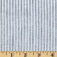TELIO Big Stripe Fabric by The Yard, Grey