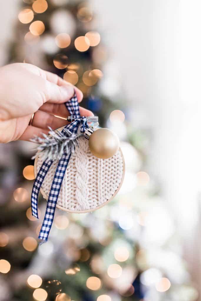 DIY Christmas ornaments to make homemade Christmas gifts
