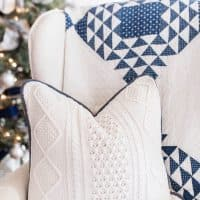 How To Make A Pillow From A Sweater
