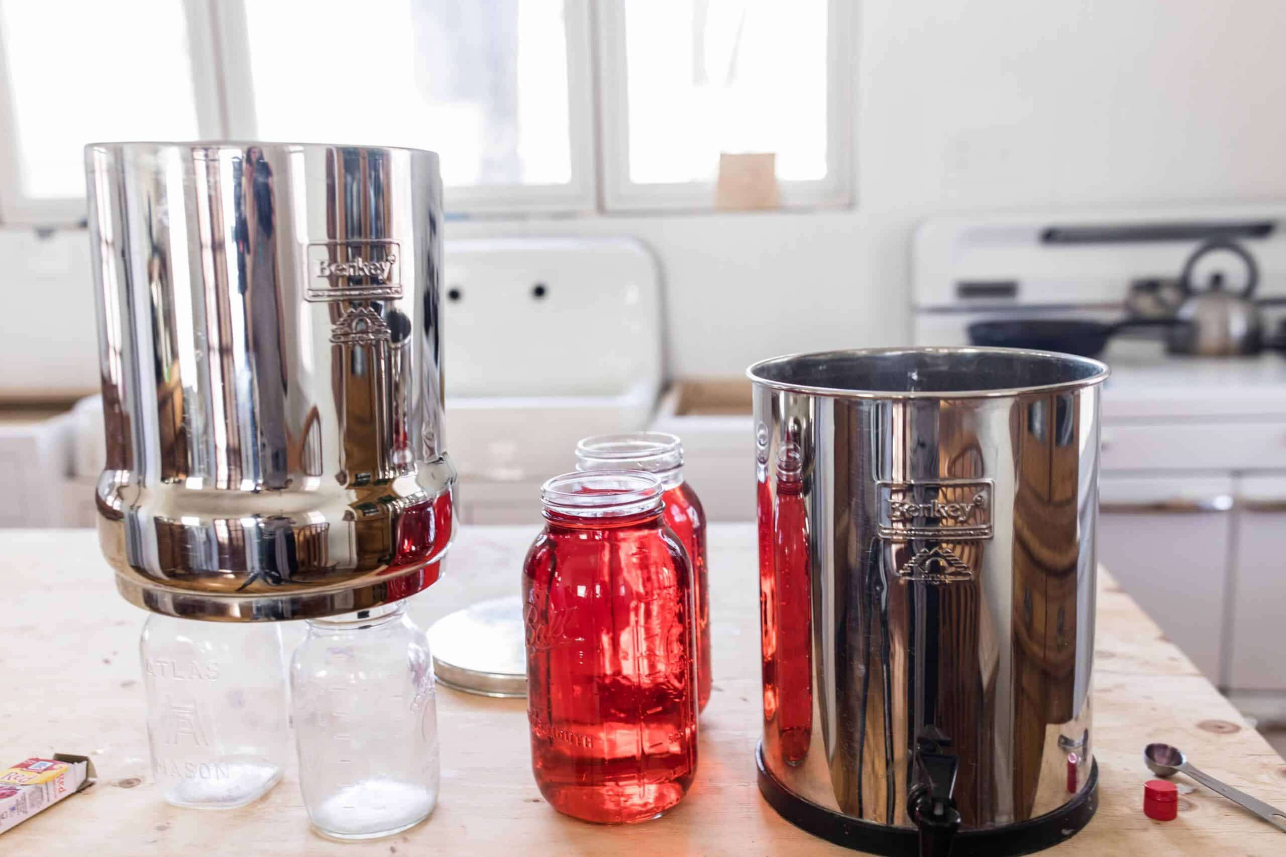 How To Do A Berkey Red Dye Test
