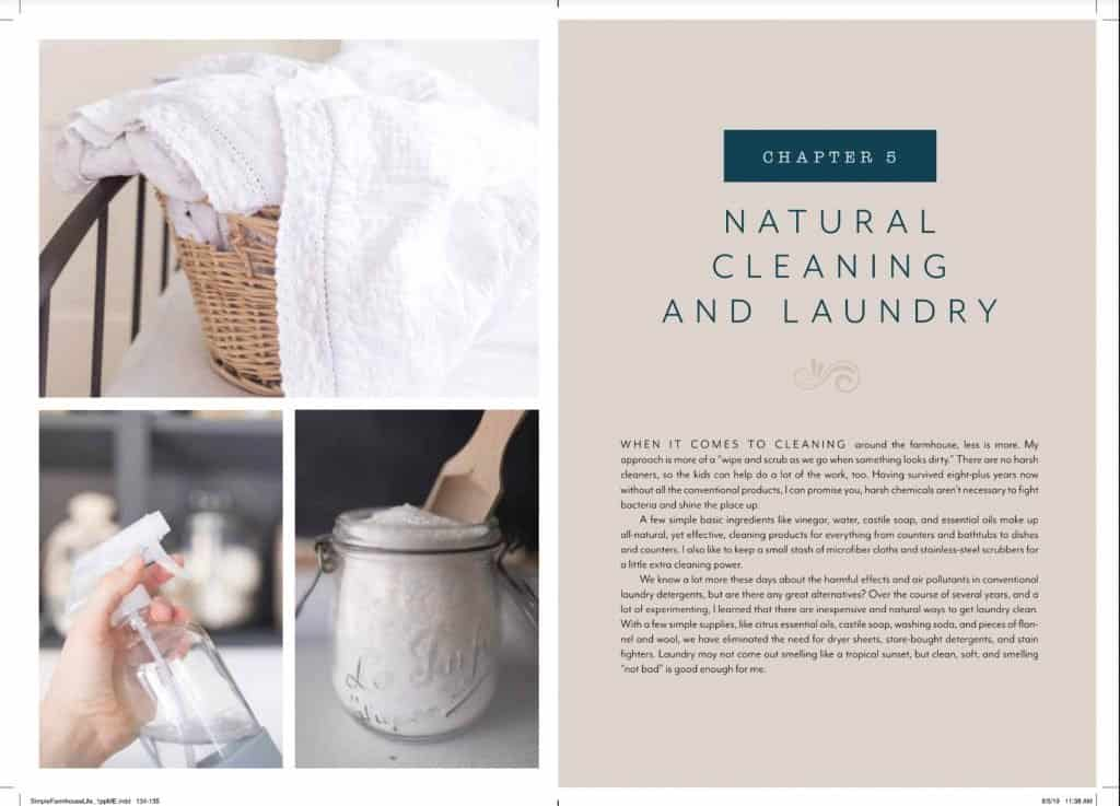 Chapter 5: Natural Cleaning and Laundry