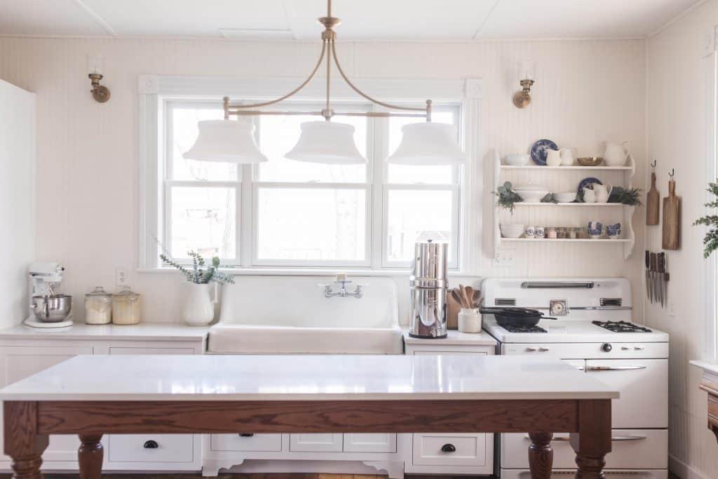 Victorian Farmhouse Kitchen Reveal On Boone