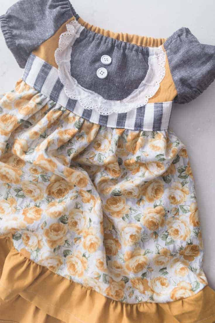 Toddler Dress Pattern - Easy Free Pattern with Video!
