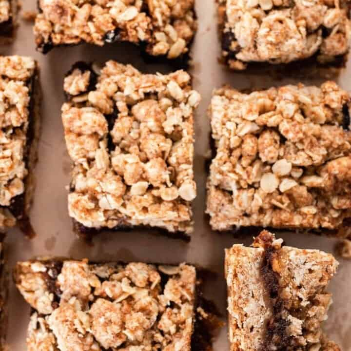 Healthy Date Squares